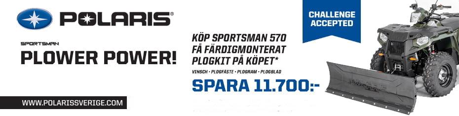 Permalänk till: Polaris PLOWER POWER 23 okt -30 nov