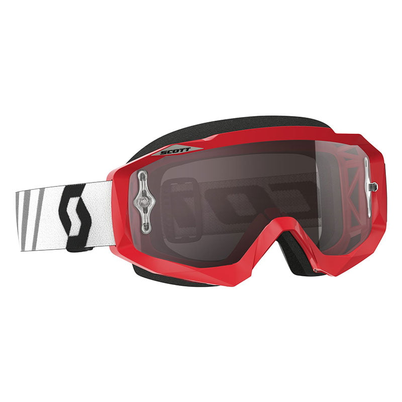 Scott Hustle MX red black silver chrome works - Hans Eriksson i Frövi AB 4fdd68c5e889a